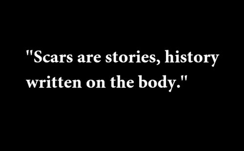 scar quote